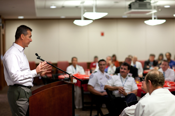 Shands at the University of Florida celebrated the opening of the Chest Pain E.R.